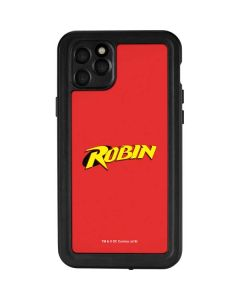 Robin Official Logo iPhone 11 Pro Max Waterproof Case