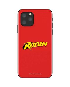 Robin Official Logo iPhone 11 Pro Skin
