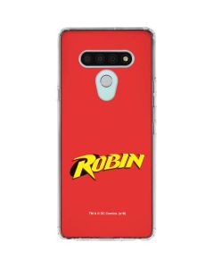 Robin Official Logo LG Stylo 6 Clear Case