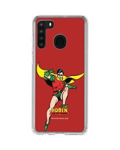Robin Portrait Galaxy A21 Clear Case