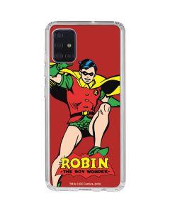 Robin Portrait Galaxy A51 Clear Case