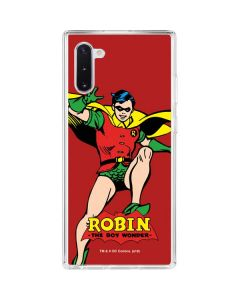 Robin Portrait Galaxy Note 10 Clear Case