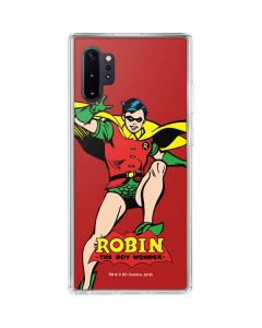 Robin Portrait Galaxy Note 10 Plus Clear Case