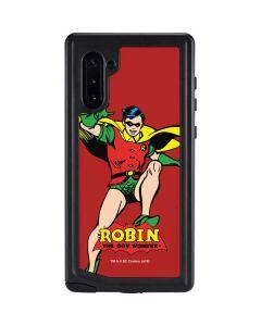 Robin Portrait Galaxy Note 10 Waterproof Case