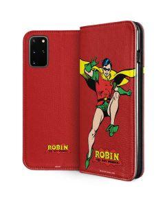 Robin Portrait Galaxy S20 Plus Folio Case