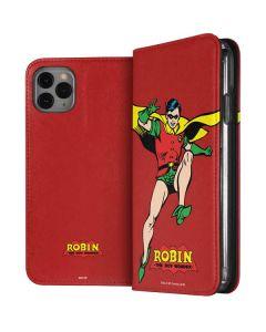 Robin Portrait iPhone 11 Pro Max Folio Case