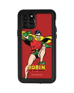 Robin Portrait iPhone 11 Pro Waterproof Case