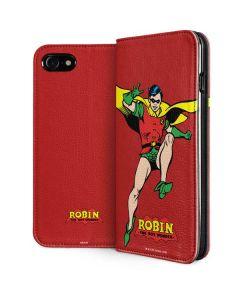 Robin Portrait iPhone SE Folio Case