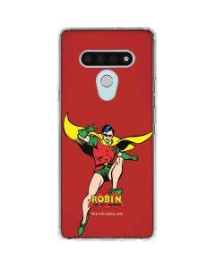 Robin Portrait LG Stylo 6 Clear Case