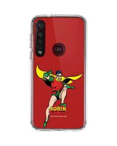 Robin Portrait Moto G8 Plus Clear Case