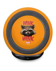 Rocket Raccoon Fast Charge Wireless Charging Stand Skin