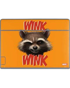 Rocket Raccoon Galaxy Book Keyboard Folio 12in Skin