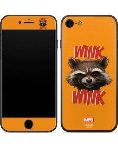 Rocket Raccoon iPhone SE Skin