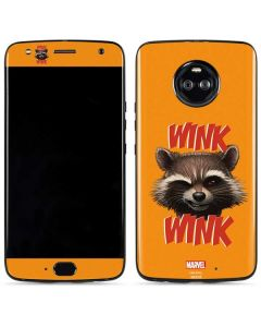 Rocket Raccoon Moto X4 Skin