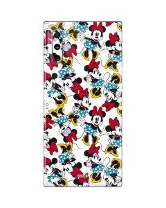 Rockin Minnie Mouse Galaxy Note 10 Skin