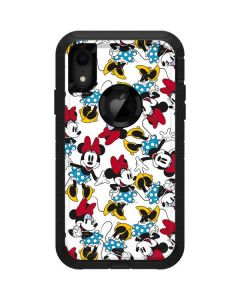 Rockin Minnie Mouse Otterbox Defender iPhone Skin