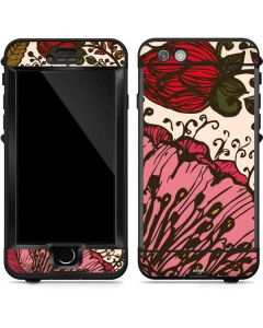 Rose Bud Floral LifeProof Nuud iPhone Skin