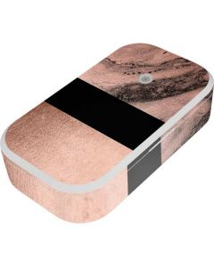 Rose Gold and Black Marble UV Phone Sanitizer and Wireless Charger Skin