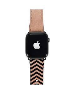Rose Gold Chevron Split Apple Watch Band 42-44mm
