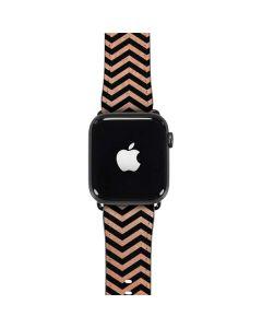 Rose Gold Chevron Split Apple Watch Case