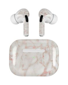 Rose Gold Marble Apple AirPods Pro Skin