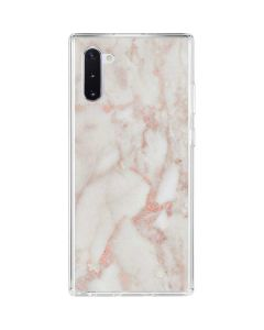 Rose Gold Marble Galaxy Note 10 Clear Case