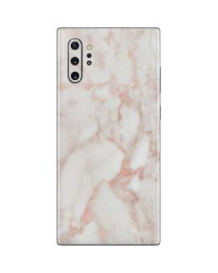 Rose Gold Marble Galaxy Note 10 Plus Skin