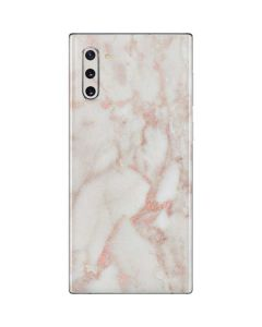 Rose Gold Marble Galaxy Note 10 Skin