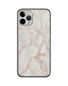 Rose Gold Marble iPhone 11 Pro Skin