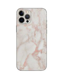Rose Gold Marble iPhone 12 Pro Max Skin