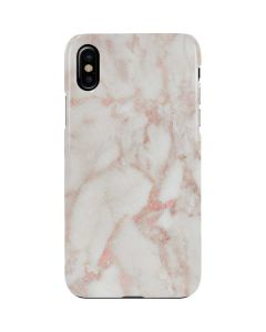 Rose Gold Marble iPhone XS Max Lite Case