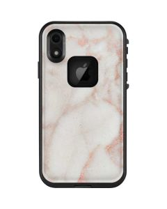Rose Gold Marble LifeProof Fre iPhone Skin