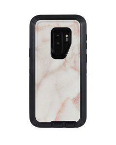 Rose Gold Marble Otterbox Defender Galaxy Skin