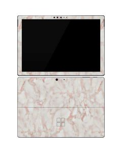 Rose Gold Marble Surface Pro 7 Skin
