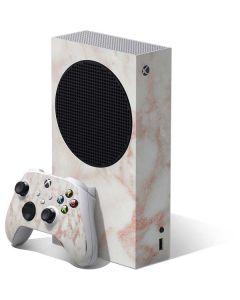 Rose Gold Marble Xbox Series S Bundle Skin