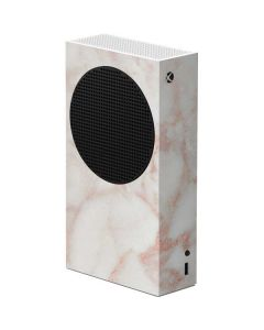 Rose Gold Marble Xbox Series S Console Skin