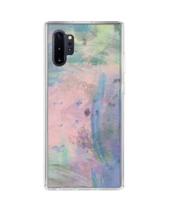 Rose Quartz & Serenity Abstract Galaxy Note 10 Plus Clear Case