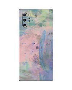 Rose Quartz & Serenity Abstract Galaxy Note 10 Plus Skin