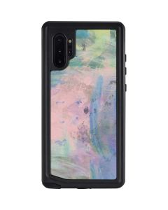Rose Quartz & Serenity Abstract Galaxy Note 10 Plus Waterproof Case