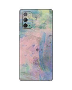 Rose Quartz & Serenity Abstract Galaxy Note20 5G Skin