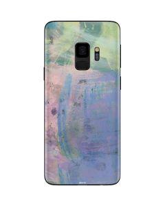 Rose Quartz & Serenity Abstract Galaxy S9 Skin
