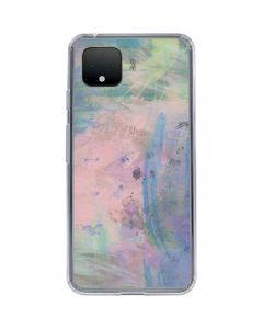 Rose Quartz & Serenity Abstract Google Pixel 4 XL Clear Case