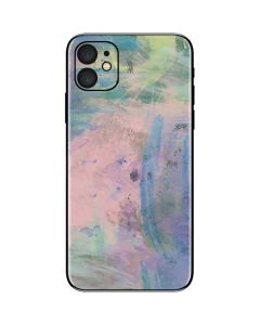 Rose Quartz & Serenity Abstract iPhone 11 Skin