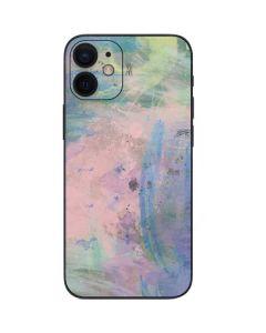 Rose Quartz & Serenity Abstract iPhone 12 Mini Skin