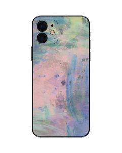 Rose Quartz & Serenity Abstract iPhone 12 Skin