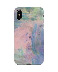 Rose Quartz & Serenity Abstract iPhone XS Max Lite Case