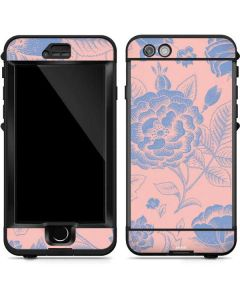 Rose Quartz & Serenity Floral LifeProof Nuud iPhone Skin