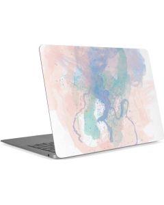 Rose Quartz & Serenity Splatter Apple MacBook Air Skin
