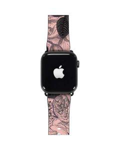 Rose Quartz Floral Apple Watch Band 38-40mm