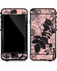 Rose Quartz Floral LifeProof Nuud iPhone Skin